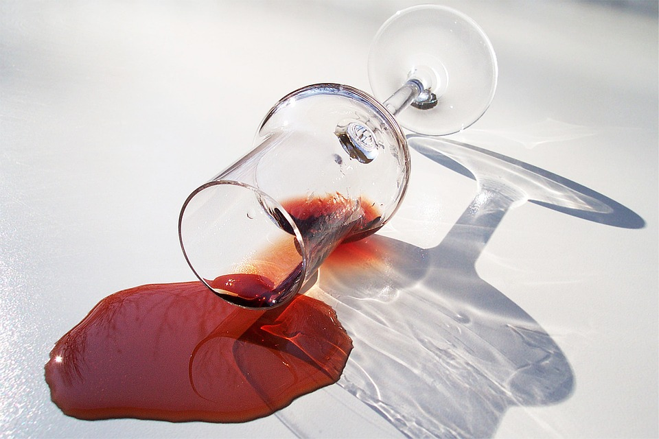vin renversé